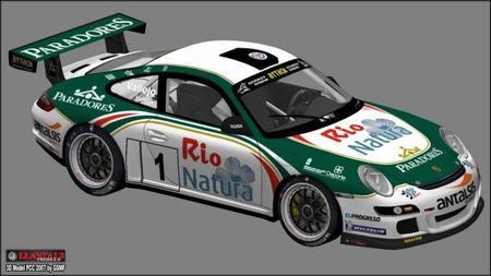 Los hermanos Vallejo y un viejo conocido, el Porsche 997