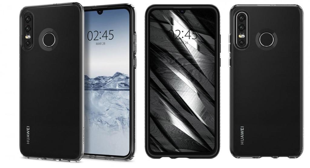 Huawei P30 Lite: se filtran imágenes de su diseño(layout) desde todos los ángulos