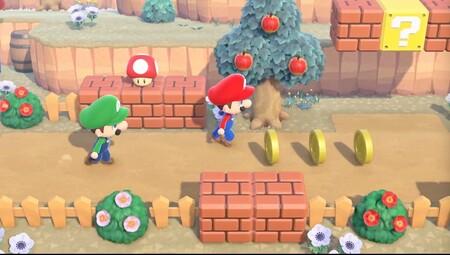 Animal Crossing: New Horizons rendirá homenaje al 35 aniversario de Mario con la actualización que recibirá en unos días