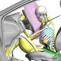 Los dummies virtuales de Toyota cumplen 20 años: un software de modelación humana que en 2021 podrán usar otros fabricantes