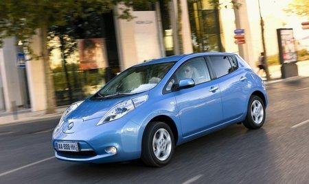 Nissan Leaf. Objetivo: vender 12.000 unidades en EE.UU. para fin de año