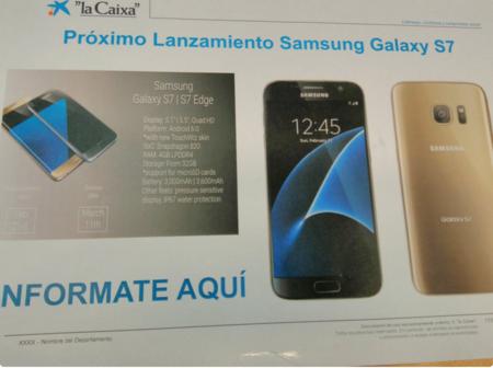 La Caixa Se Carga Las Sorpresas Aquí Tenéis Todos Los Detalles Del Samsung Galaxy S7 Actualizamos Con Precios