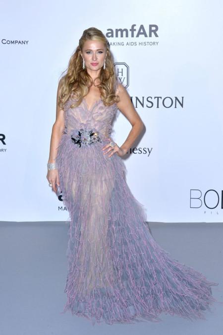 Paris Hilton Amfar Cannes 2015