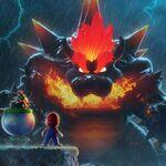 Super Mario 3D World + Bowser's Fury nos da razones para esperarlo con ganas: Mario Gato Super Saiyan y un Bowser gigante a lo Godzilla