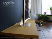Otro concepto de la HDTV de Apple que quizás nunca se haga realidad, esta vez, con pantalla curva