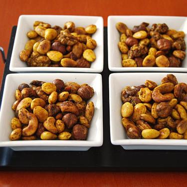 Aperitivo de frutos secos tostados al curry: receta fácil y saludable para el picoteo