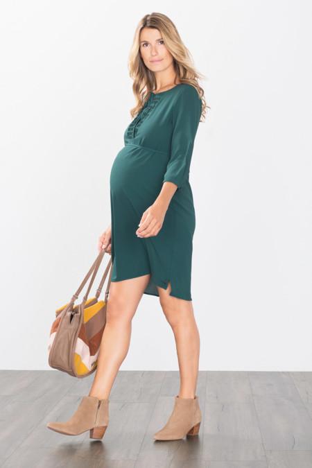 Vestido Verde Premama