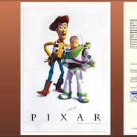 Subastan un autógrafo de Steve Jobs en un póster de Toy Story