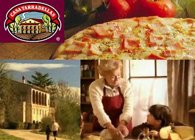 Omitir la verdad es también una mentira, un anuncio de pizza