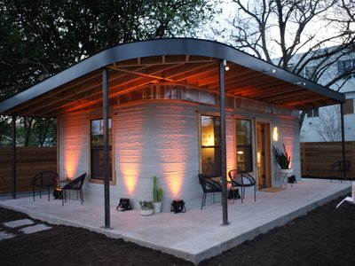 Para imprimir esta casa en 3D se necesitarían máximo 24 horas y sólo 4.000 dólares