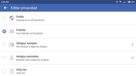 Facebook Privacidad 13