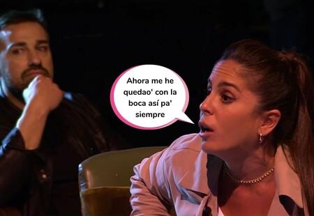 Anabel Pantoja, pillada en directo en 'Sálvame' con un problemilla por culpa de sus nuevos brackets