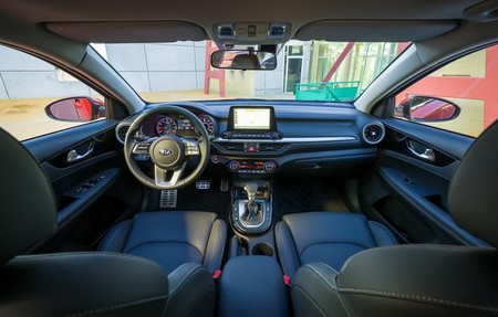 Kia Forte 2018 interior