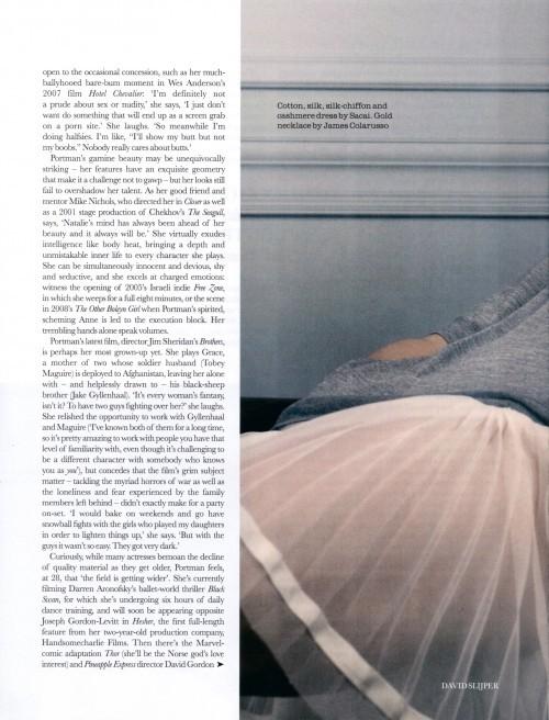 Foto de Todas las fotos de Natalie Portman para Elle: el cuento de la princesa romántica (4/8)