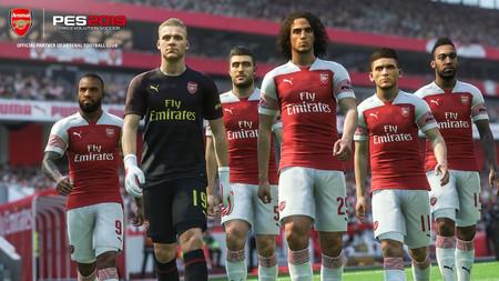 PES 2019 renueva su acuerdo con el Arsenal y confirma que llegarán nuevas licencias en 2019