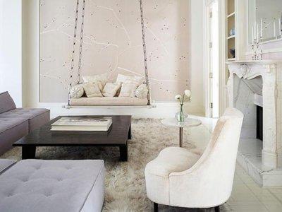 En casa de Gwyneth Paltrow, etérea y romántica