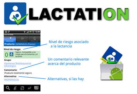 Lactation: toda la información sobre medicamentos y lactancia en Android