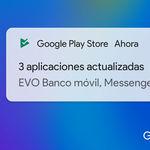 Google Play deja de notificar por defecto las actualizaciones de aplicaciones