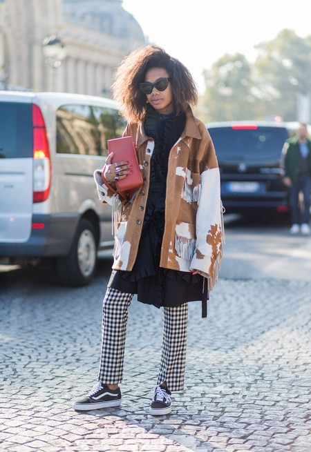 cow print street style