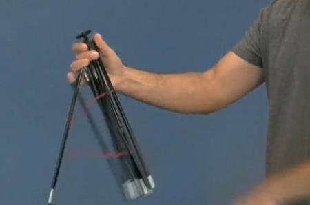 ZipShot, el trípode automontable en vídeo