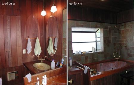 Antes y después: de la oscuridad absoluta al baño de mis sueños