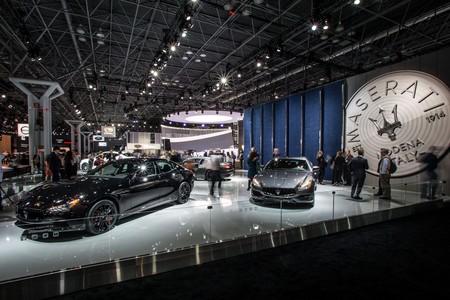 Maserati Al Nyias 2017 Stand Ghibli Left Quattroporte