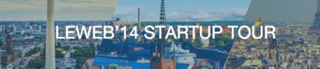 Leweb Startup Tour