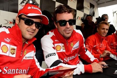 Fernando Alonso: Hasta que no estemos a muchos más puntos no hay preocupación