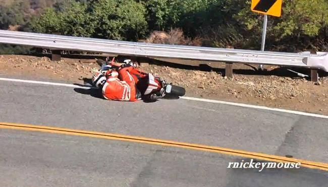 Accidente Ducati