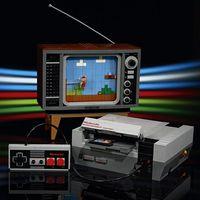 """LEGO ha creado una réplica del NES de 2,600 piezas en la que se puede """"jugar"""" Super Mario, este es su precio en México"""