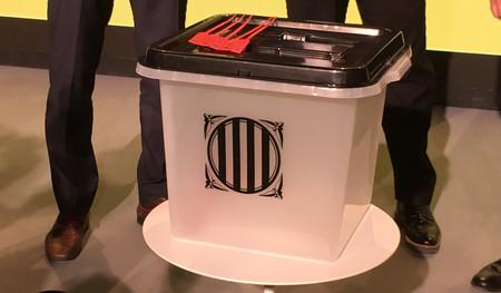 El referéndum chanante: las urnas son de plástico, cuestan 5 euros y las puedes comprar en Aliexpress