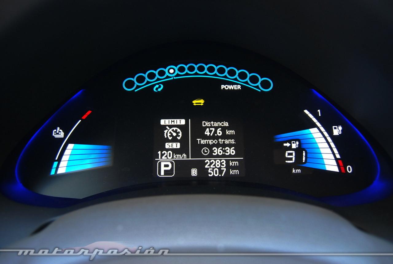 Foto de Nissan Leaf (miniprueba) (21/22)