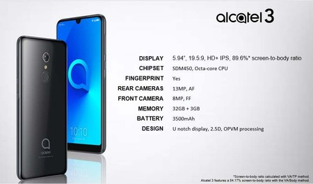 Alcatel 3 Filtracion