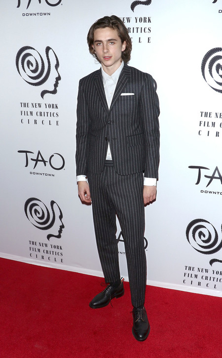 Timothee Chalamet Se Queda Corto Literalmente En Su Look Para Los New York Film Critics Awards 03