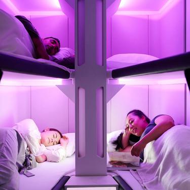 Esta aerolínea ha diseñado la primera clase turista con cápsulas para dormir
