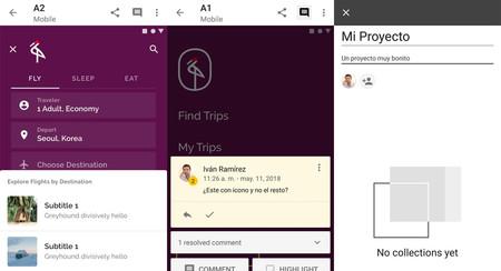 Material Gallery: una nueva app de Google para compartir, comentar y revisar diseños de apps