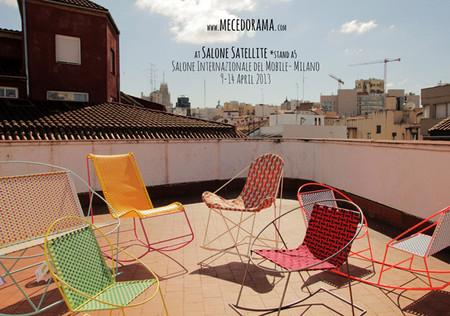 Llena tu terraza de color con las mecedoras de Mecedorama