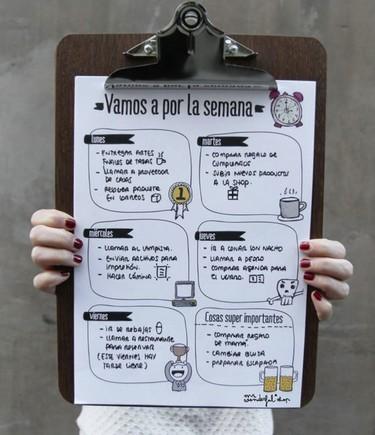 13 imprimibles gratis para organizar las tareas del hogar