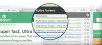 µTorrent lanza una barra para controlar las descargas desde el navegador