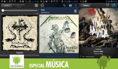 Las mejores aplicaciones para escuchar música en la nube en Android