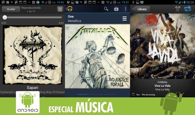 Música en la nube en Android