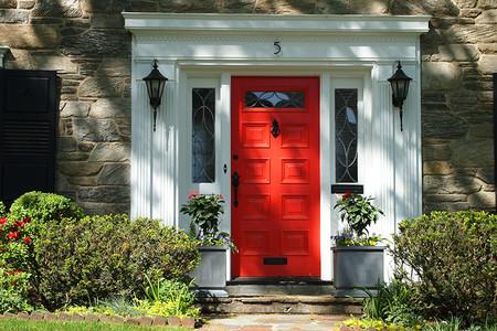 Clasica Puerta Roja 01