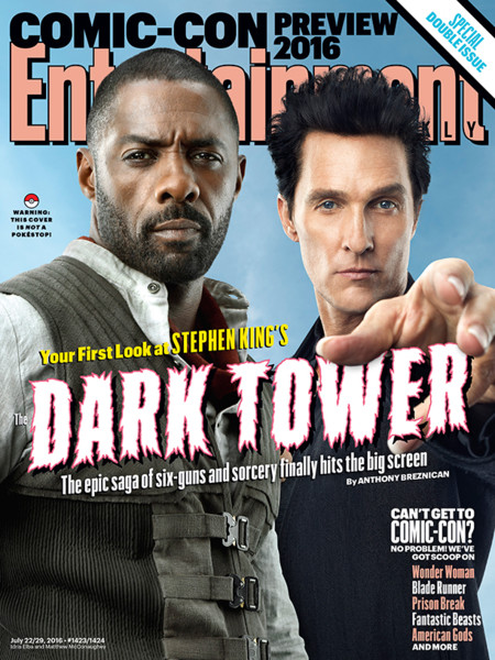 EW dedica su portada a The Dark Tower