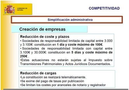 La ley de Economía Sostenible y las mejoras para crear empresas