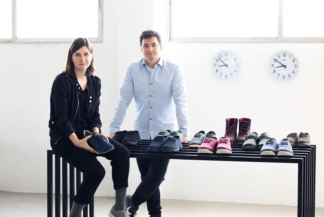 Muroexe Esme Roberto Fundadores Startup Zapatillas