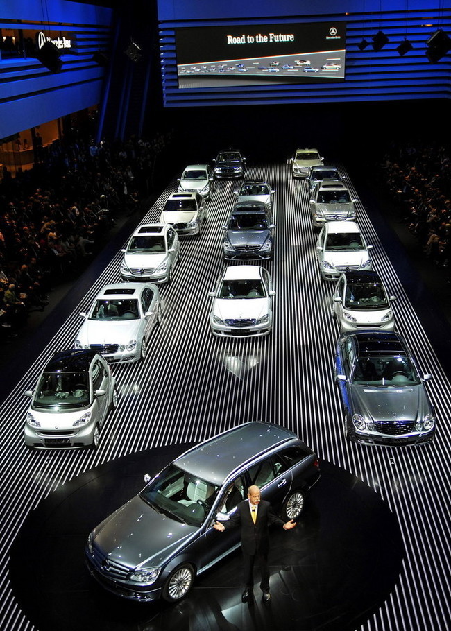 Foto de Salón de Frankfurt 2007: Mercedes Benz (18/18)