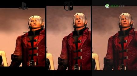 Devil May Cry en Nintendo Switch frente a las versiones de PS2 y Xbox 360 en un vídeo comparativo