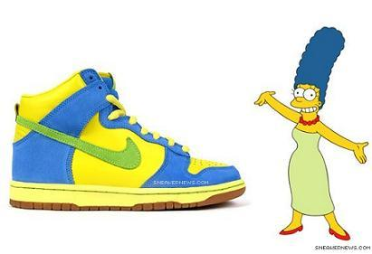 Zapatillas Nike Dunk High Premium SB Marge Simpson