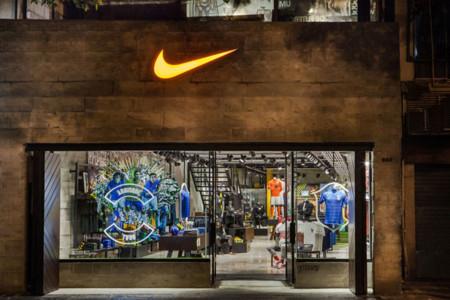 Nike se vuelca con el fútbol en su nueva tienda en Brasil