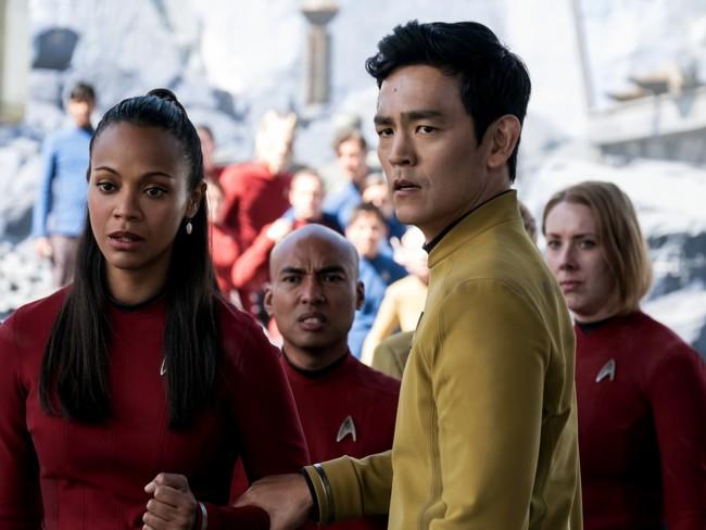 John Cho en Star Trek Más Allá